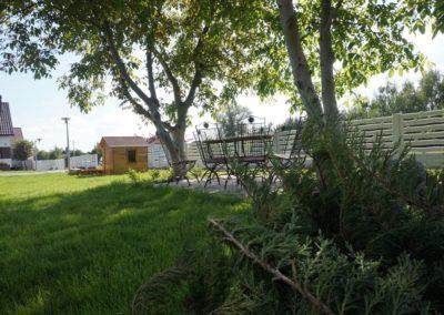 Noclegi w Ślesinie - Gościniec z zewnątrz - chata grillowa (27)
